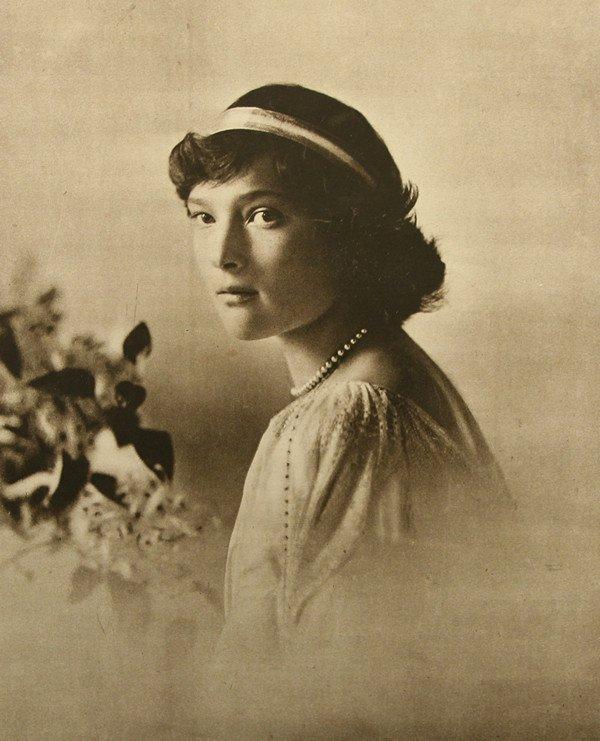 16: PHOTOLITHOGRAPH OF GRAND DUCHESS TATIANA NIKOLAEVNA