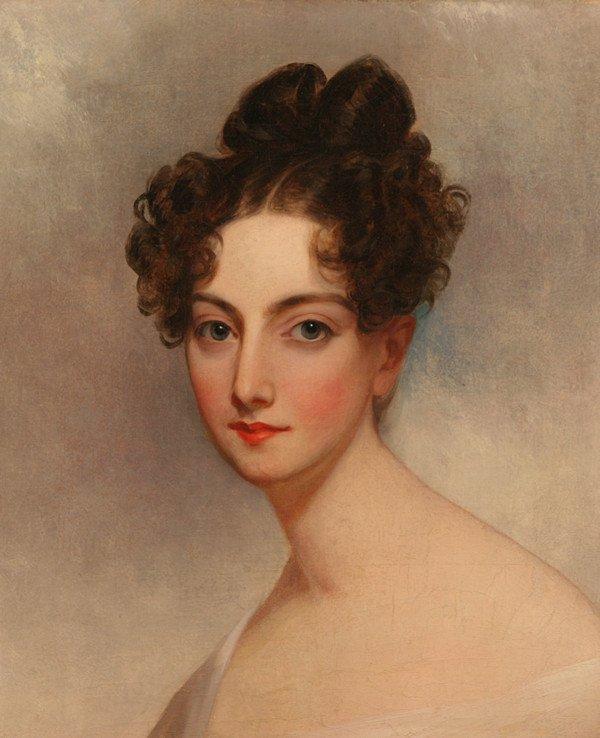 "17: THOMAS SULLY (AMERICAN 1783-1872), ""Portrait of Ann"