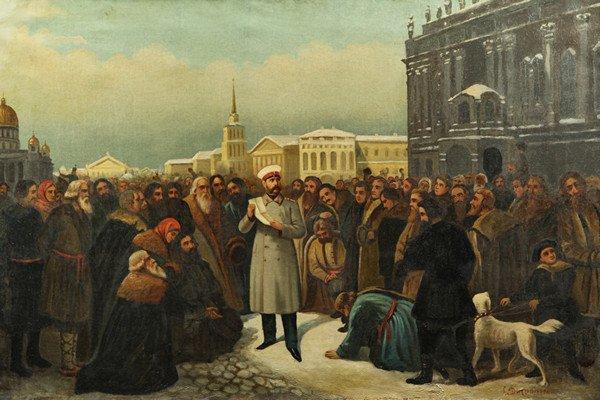 """18: GUSTAV DITTENBERGER (AUSTRIAN-RUSSIAN 1794-1879), """""""