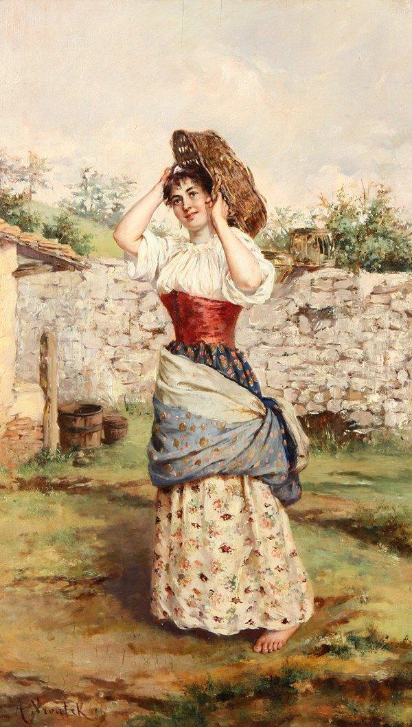 22: AURELIA DELLA CORTE SZVATEK (ITALIAN 19TH-20TH CENT