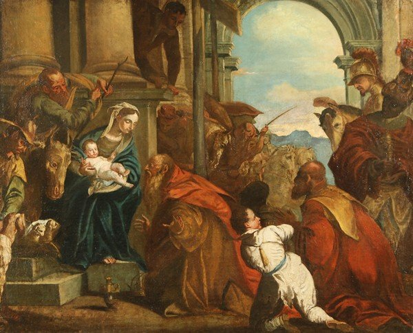 7: MANNER OF RICCI OLD MASTER PAINTING