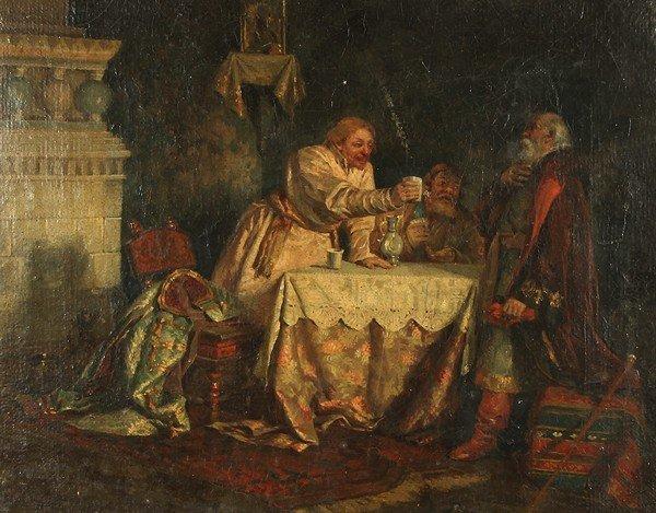 53: BUCHHOLZ ANTIQUE RUSSIAN PAINTING BOYARS