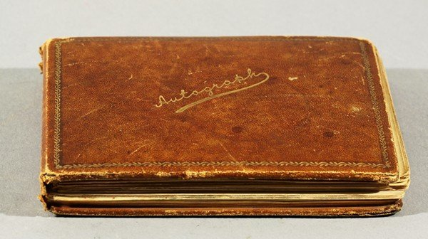 62: VOSE GALLERY ILLUSTRATED AUTOGRAPH BOOK