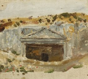 POLENOV ANTIQUE RUSSIAN PAINTING
