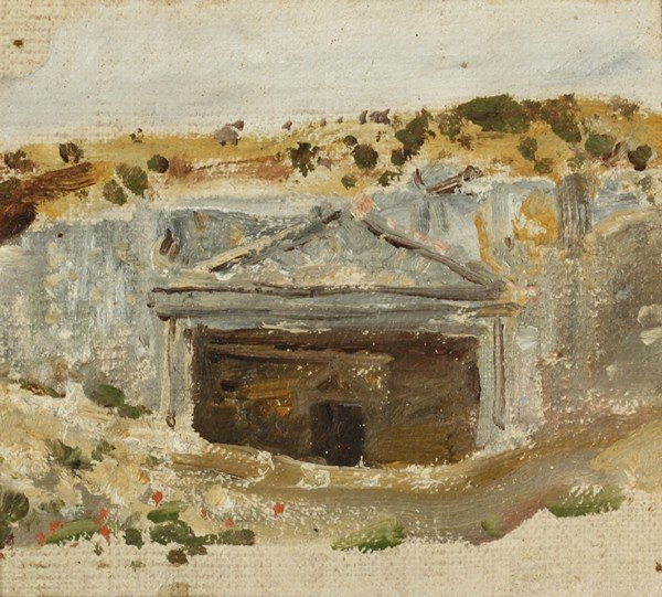 67: POLENOV ANTIQUE RUSSIAN PAINTING