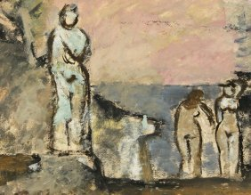 MAX WEBER RUSSIAN AMERICAN PAINTING
