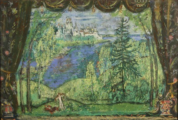 112: ALEXANDRE BENOIS RUSSIAN PAINTING
