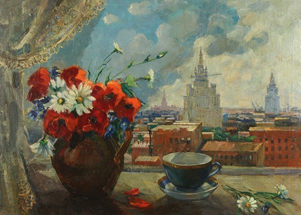143A: IGOR POPOV RUSSIAN PAINTING MOSCOW