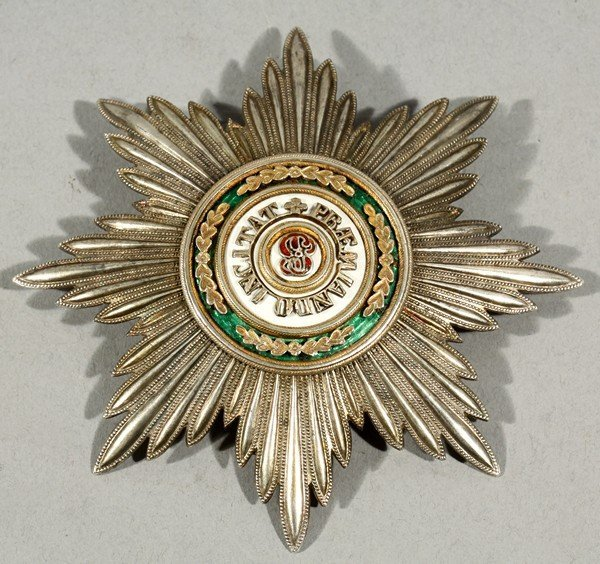 460: ANTIQUE RUSSIAN ORDER OF STANISLAUS FIRST CLASS KE