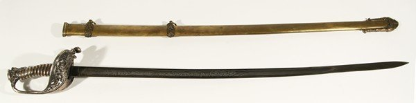 549: AMERICAN CIVIL WAR PRESENTATION SWORD
