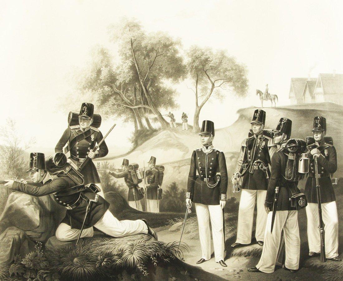 "14: ADOLF IVANOVICH GEBENS (1819-1888), ""Life Guards of"