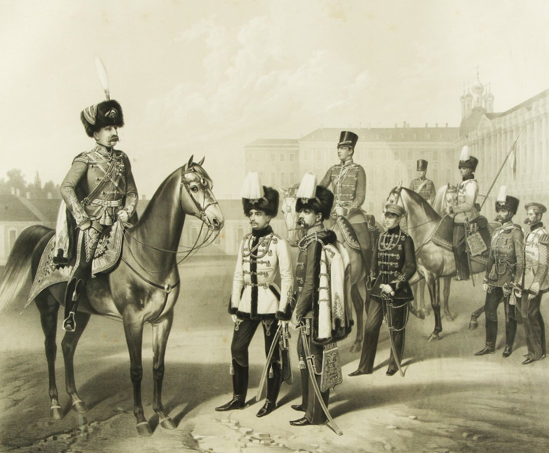 "15: ADOLF IVANOVICH GEBENS (1819-1888), ""The Hussar Lif"