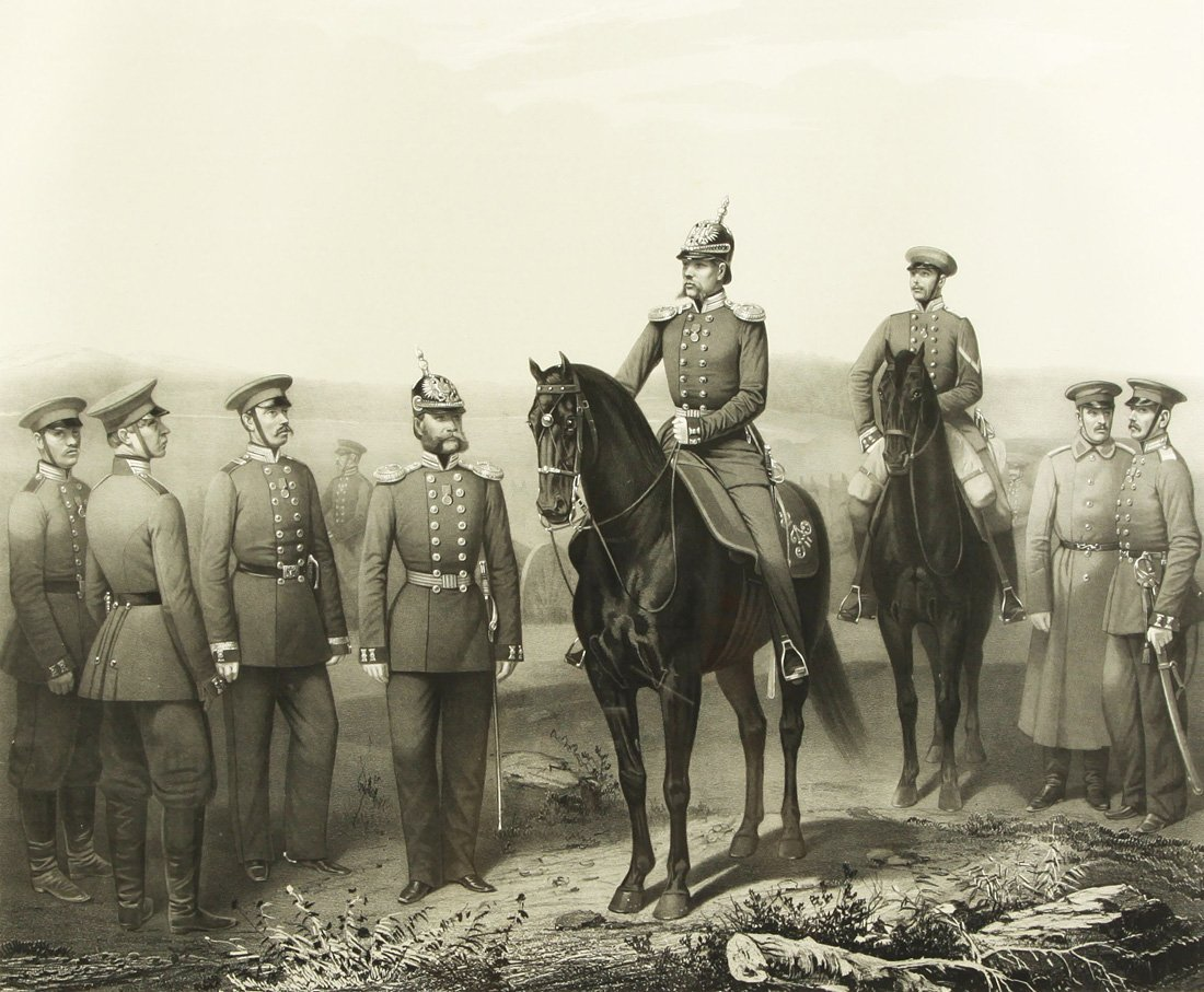 "17: ADOLF IVANOVICH GEBENS (1819-1888), ""Forward Group"