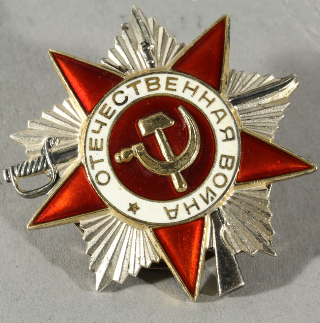 19: SECOND CLASS ORDER OF THE RUSSIAN PATRIOTIC WAR, CI