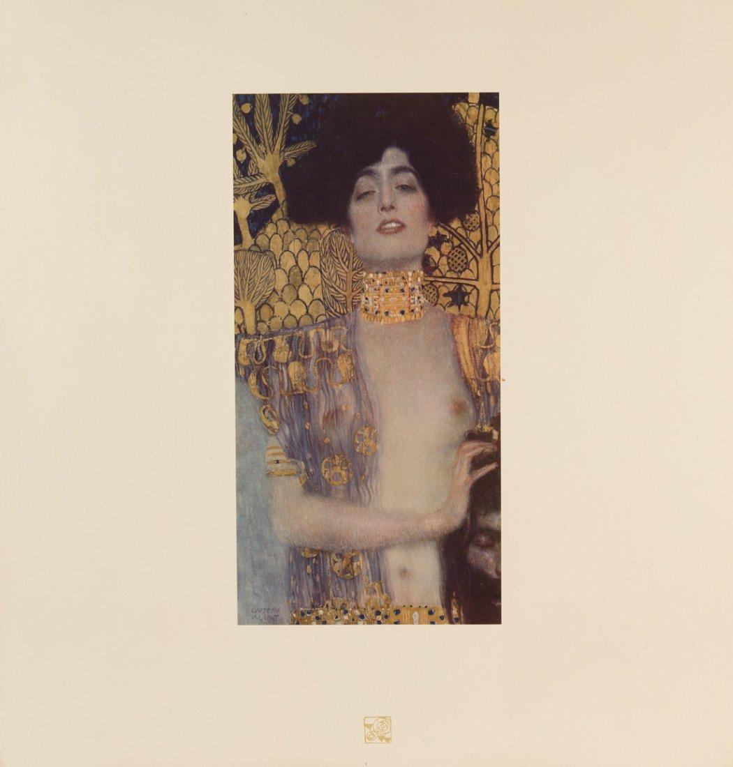 GUSTAV KLIMT (1862-1918),  Das Werk von Gustav Klimt.