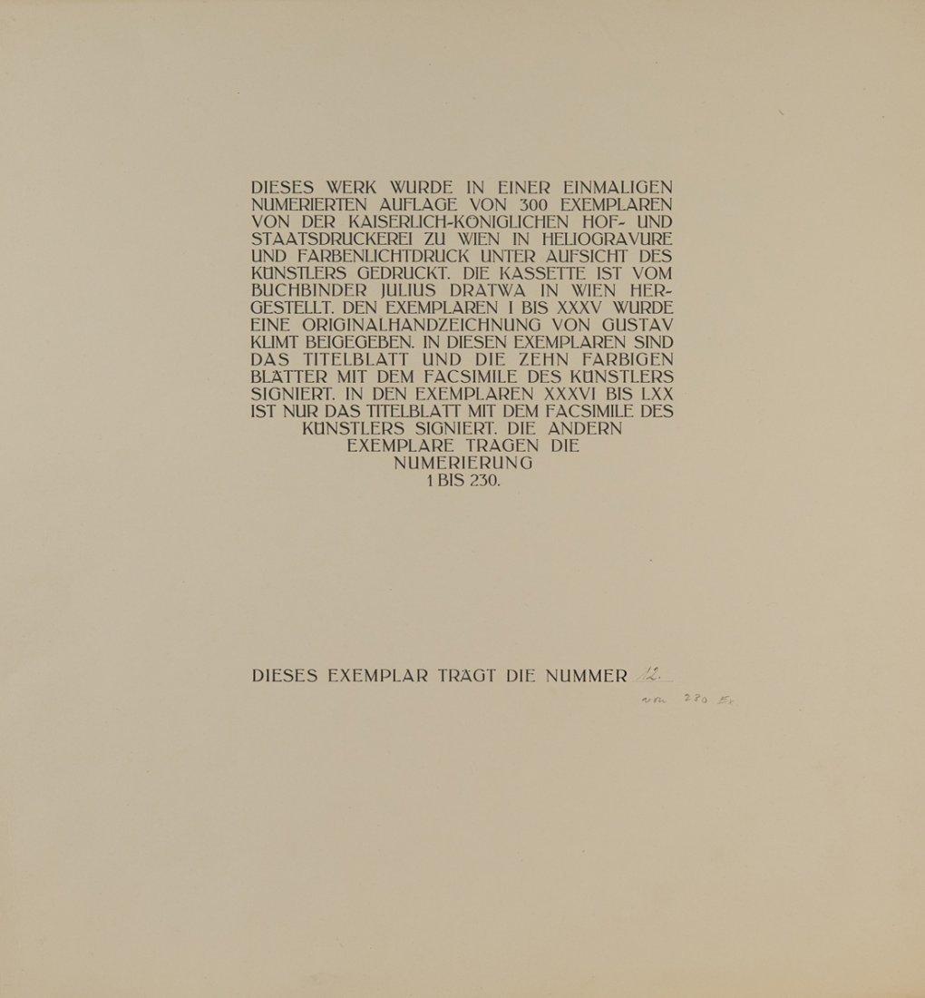 GUSTAV KLIMT (1862-1918),  Das Werk von Gustav Klimt. - 5