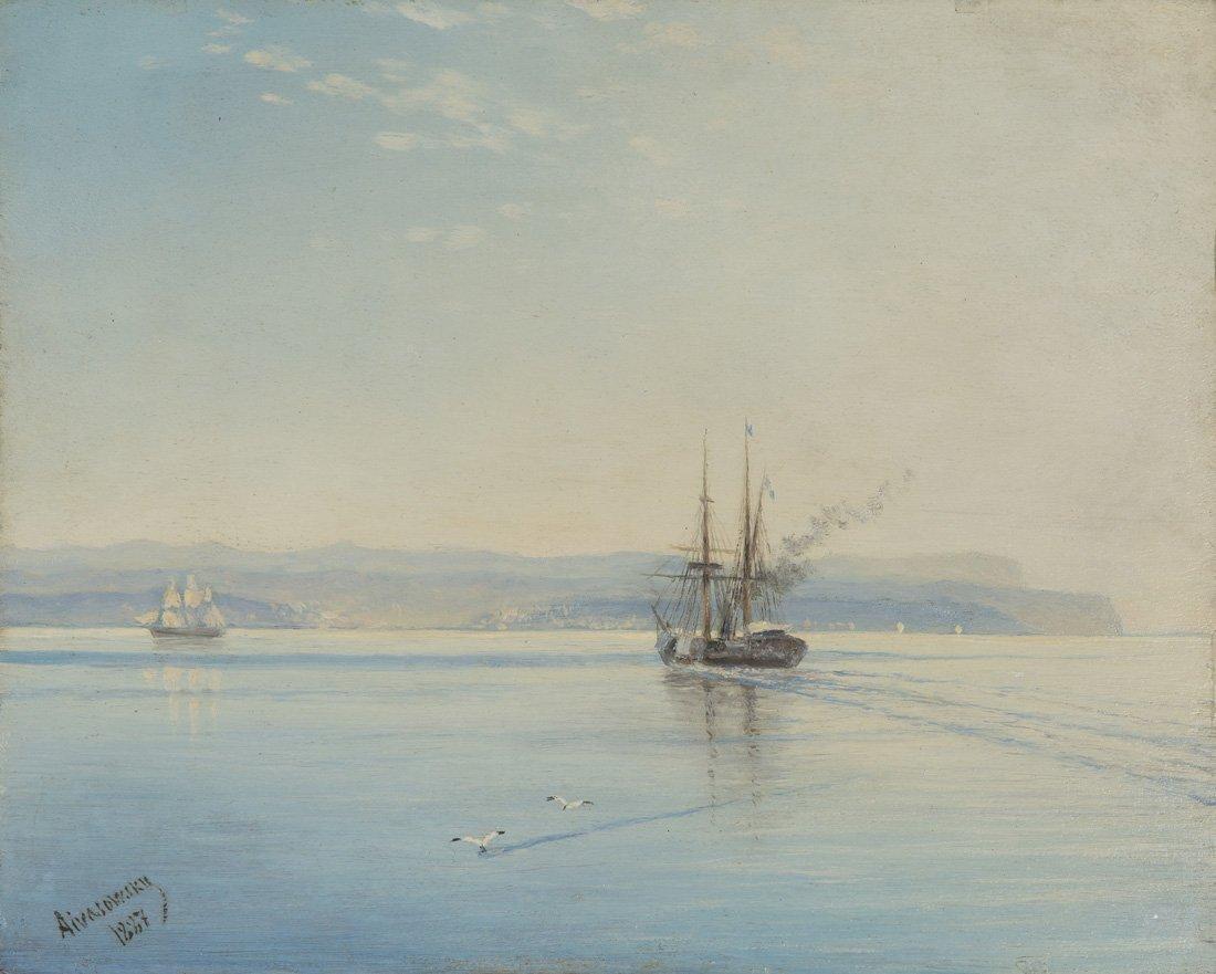 IVAN KONSTANTINOVICH AIVAZOVSKY (RUSSIAN 1817-1900),