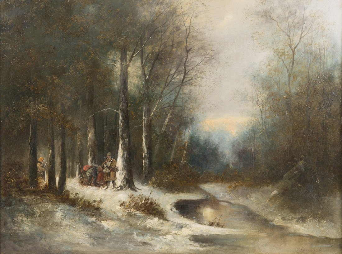 IVAN IVANOVICH ENDOGUROV (RUSSIAN 1861-1898) ,