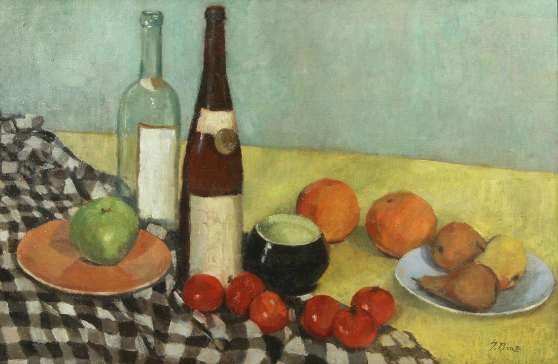 OSIP BRAZ (RUSSIAN 1873-1936), 'Still Life with Bottles