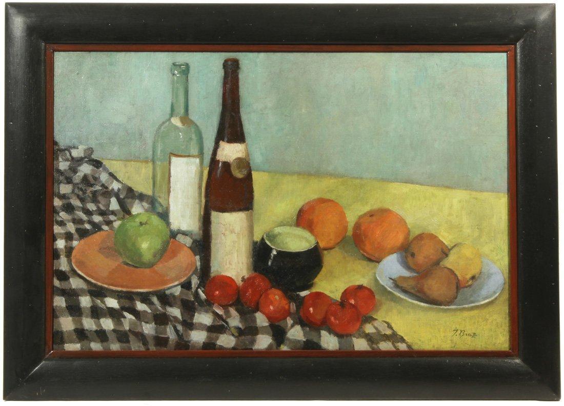 OSIP BRAZ (RUSSIAN 1873-1936), 'Still Life with Bottles - 2