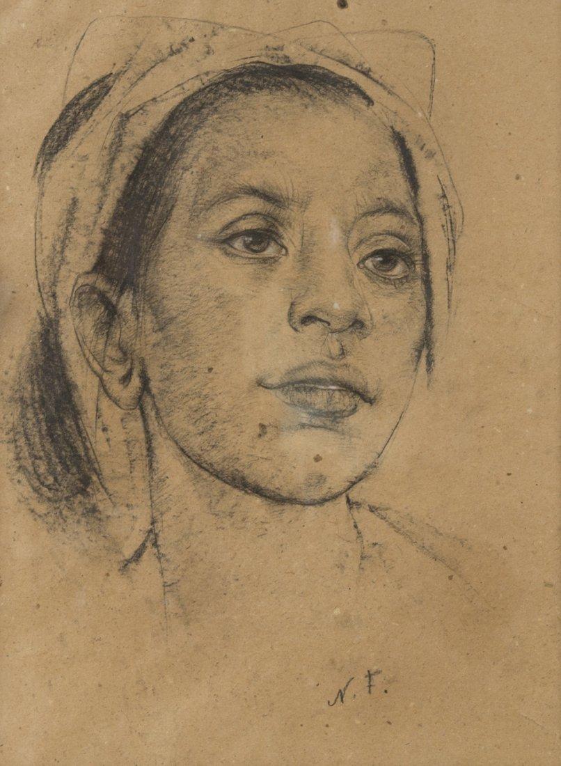NICOLAI FECHIN (RUSSIAN 1881-1955), 'Balinese Girl',