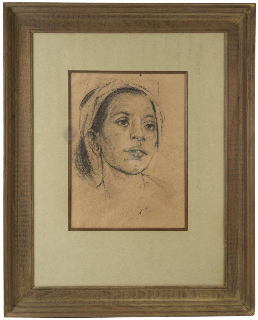 NICOLAI FECHIN (RUSSIAN 1881-1955), 'Balinese Girl', - 2