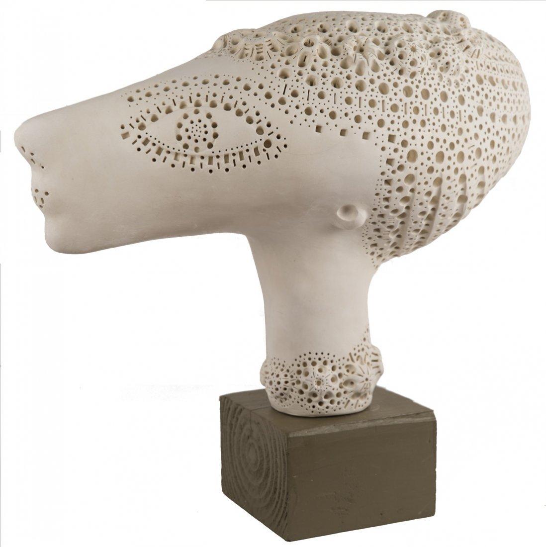 ALEXANDER NEY (RUSSIAN B. 1939), 'Woman`s Head', c.