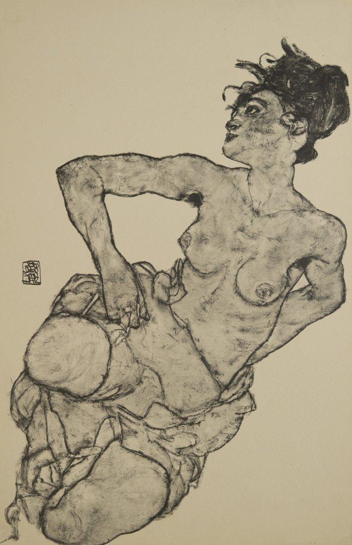 EGON SCHIELE (AUSTRIAN 1890-1918), Zeichnungen: Egon