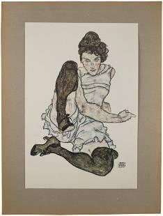 EGON SCHIELE (AUSTRIAN 1890-1918), Egon Schiele: