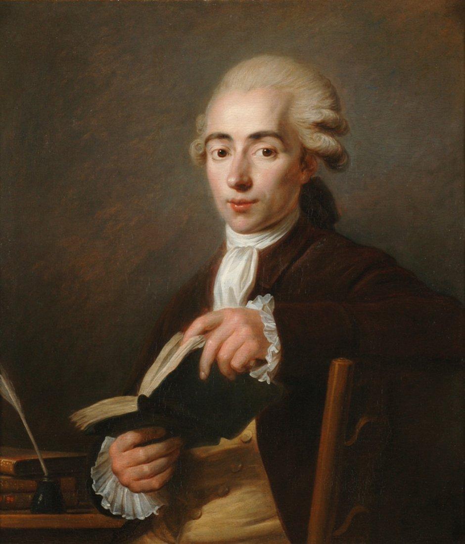 JEAN VOILLE (FRENCH 1744-1806)  Portrait of Cesaire