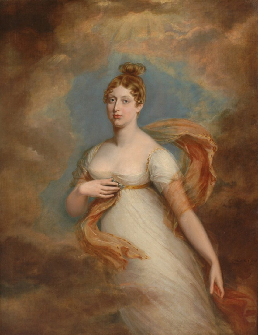 GEORGE DAWE (ENGLISH 1781-1829)   Princess Charlotte ,