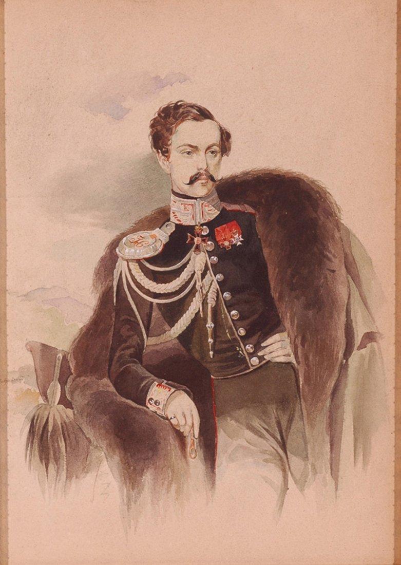 ALEXEI POKROVSKI (RUSSIAN 1810-1865)  Portrait of Count