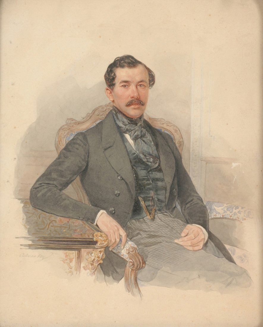 PETR FEDOROVICH SOKOLOV (RUSSIAN 1791-1848)  Maximilian