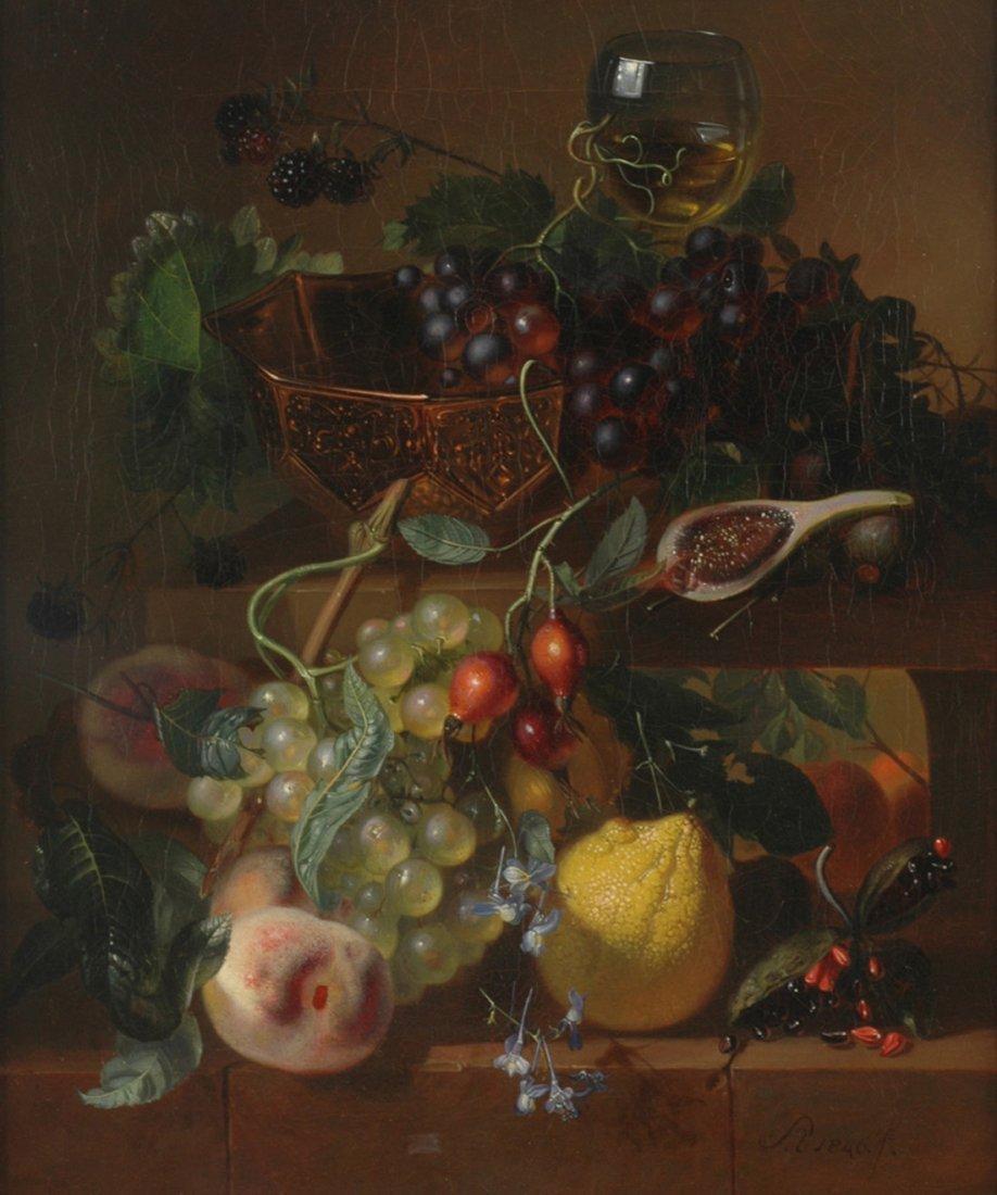 ADRIANA VAN RAVENSWAAY (DUTCH 1816-1872)  Still-life