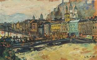 ARBIT BLATAS (LITHUANIAN-AMERICAN 1908-1999)  Salzburg