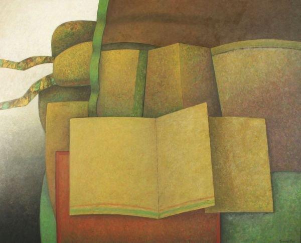 10: EDUARDO TAMARIZ b1945 Mexican Latin Amer Painting