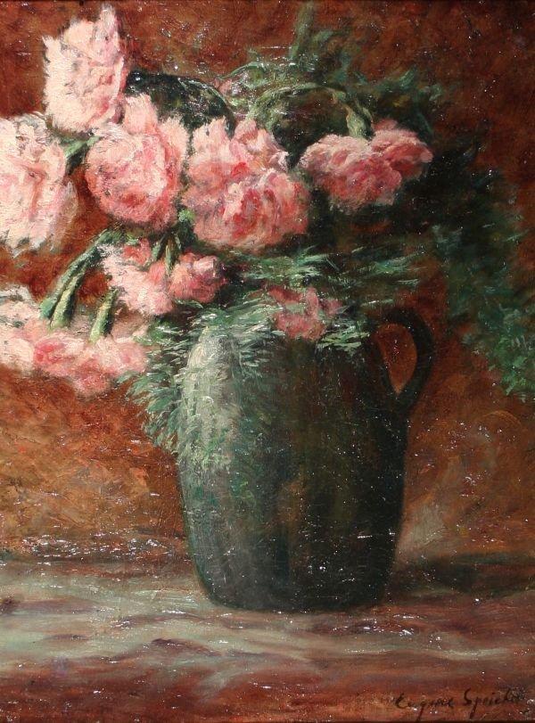 17: EUGENE SPEICHER b1883 American Oil Painting