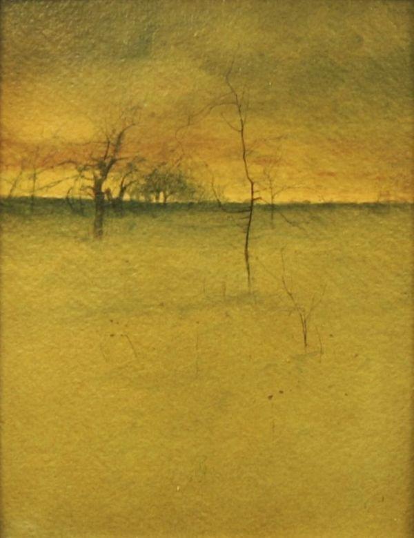 18: JOHN FRANCIS MURPHY b1853 American Oil Painting