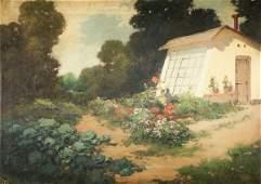 121 LASZLO NEOGRADY b1900 Hungarian Oil Painting