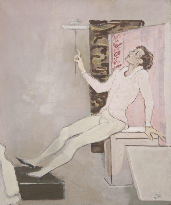 381: BERNADINO PALAZZI b1907 Italian Modern Painting