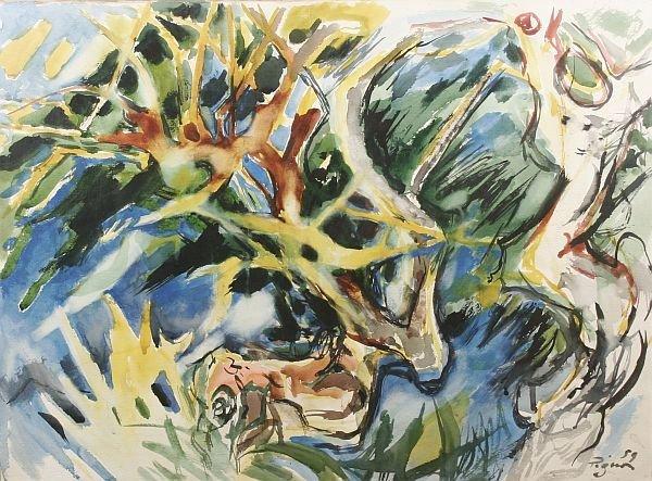 382: EDOUARD PIGNON b1905 French Modern Painting