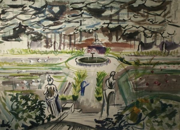 395: BENA FRANK MAYER b1900 Painting Woman Artist