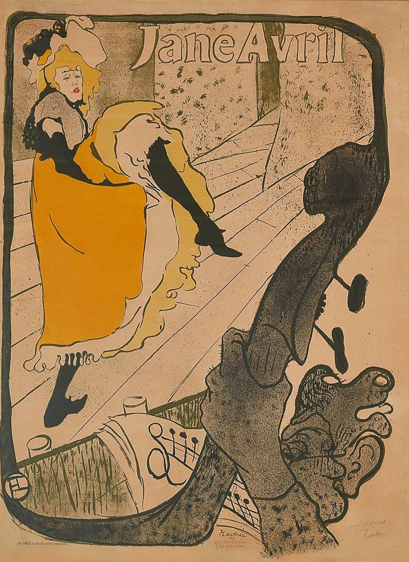 HENRI DE TOULOUSE-LAUTREC (FRENCH 1864-1901)