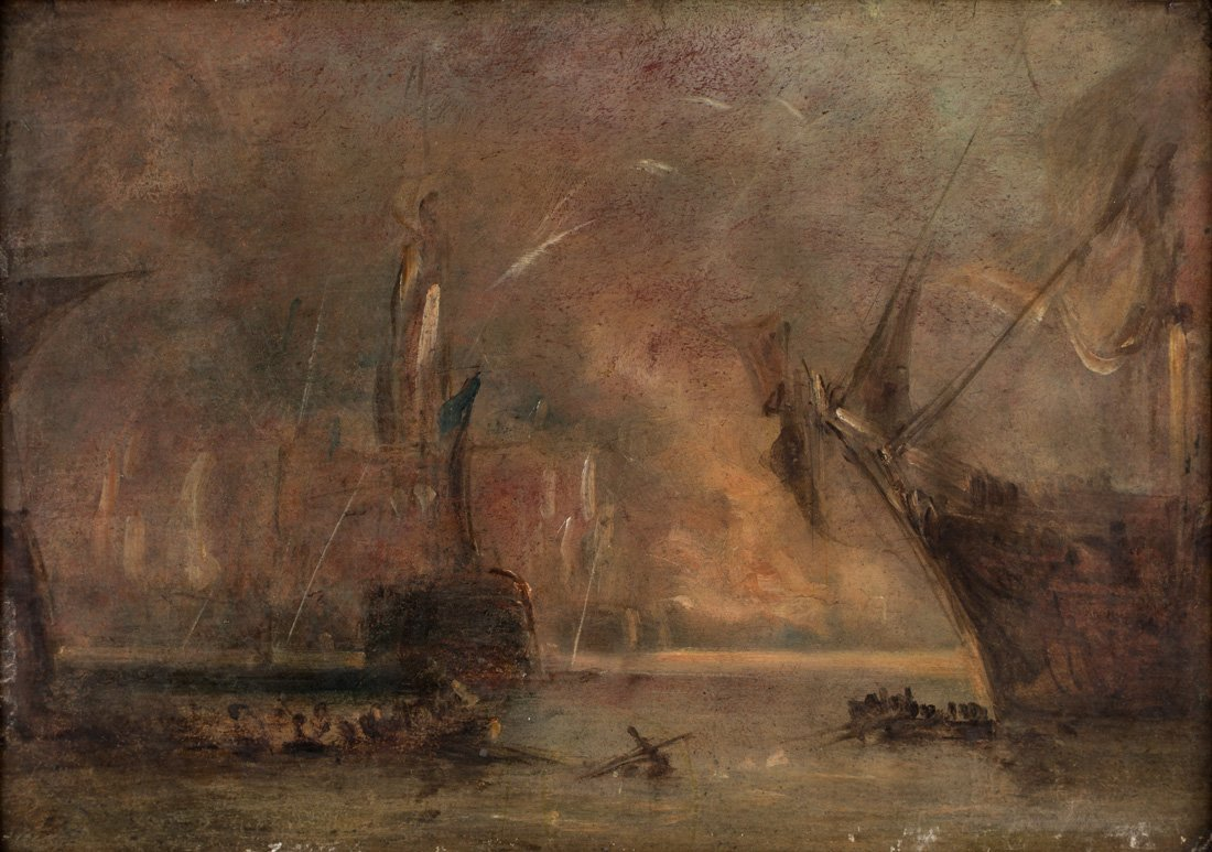 ATTRIBUTED TO JOSEPH MALLORD WILLIAM TURNER (BRITISH