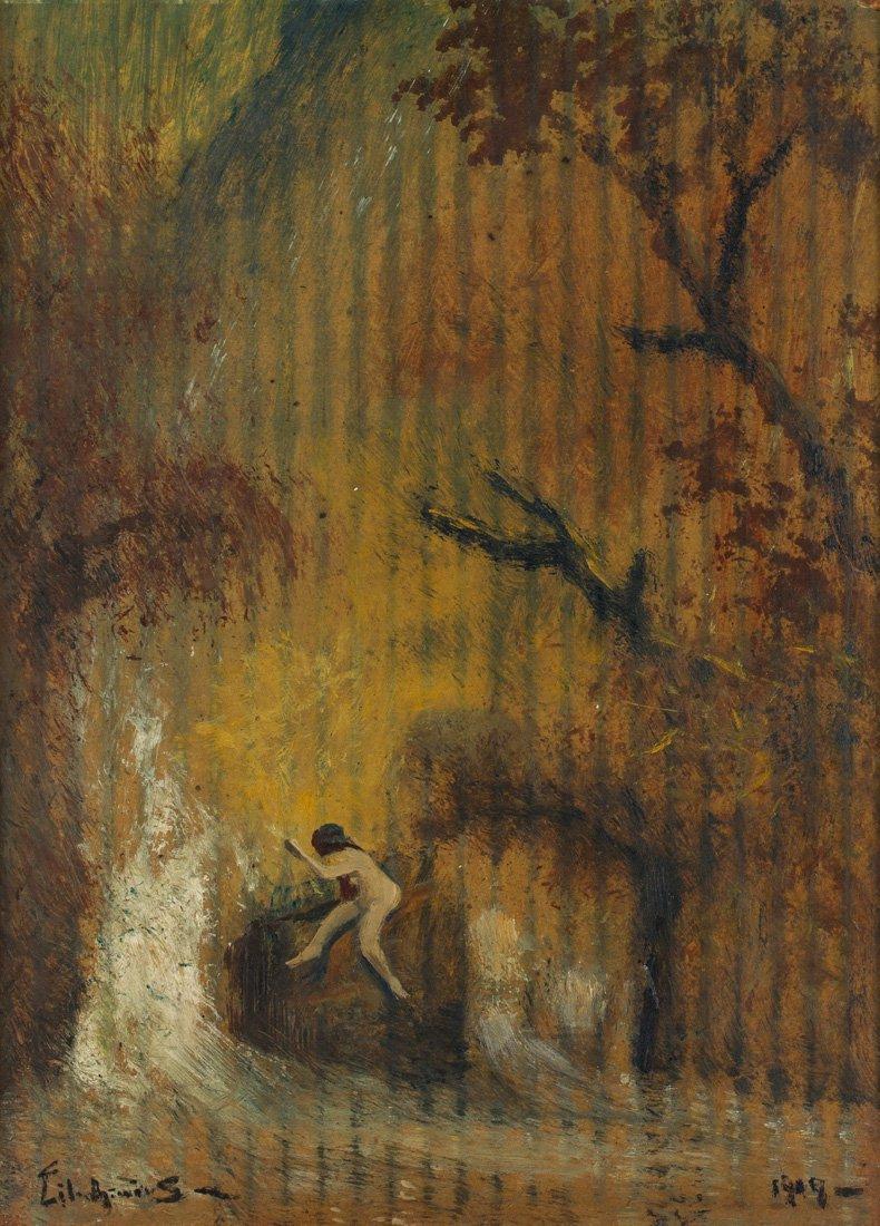 LOUIS MICHEL EILSHEMIUS (AMERICAN 1864-1941)