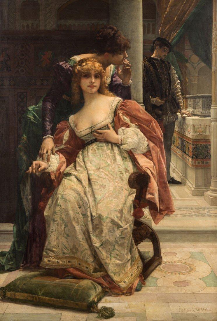ALEXANDRE CABANEL (FRENCH 1823-1889)