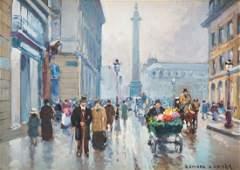 EDOUARD LEON CORTES (FRENCH 1881-1969)