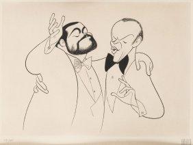 Al Hirschfeld (american 1903-2003)