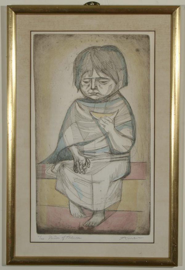 7: IRVING AMEN B1918 Nina Taluca Mexican Lim.Ed.