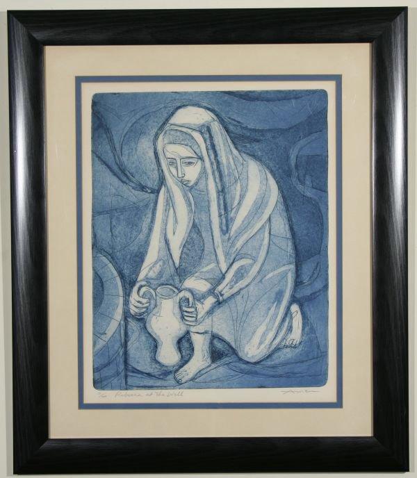 8: IRVING AMEN Rebecca Jewish Judaica Lim.Ed.